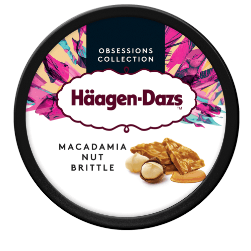 Macadamia Nut Brittle  460ml